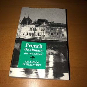 French Dictionary (2nd Edition) (1988)